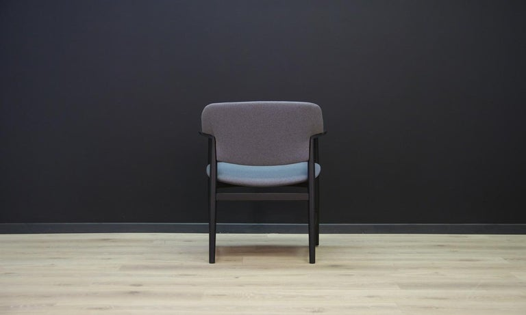 Fritz Hansen Vintage Armchair Danish Design For Sale 1