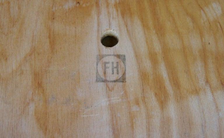 Fritz Hansen Vintage Armchairs Danish Design For Sale 5