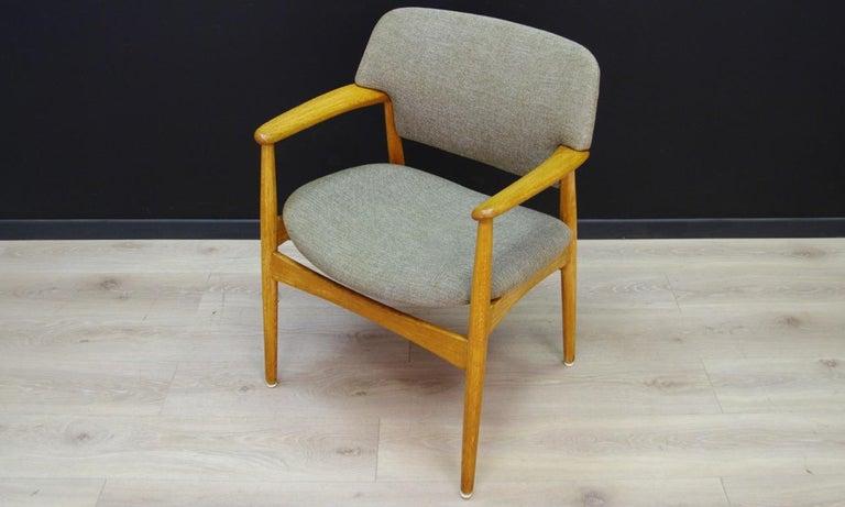 Woodwork Fritz Hansen Vintage Armchairs Danish Design For Sale