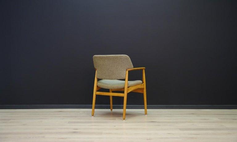 Late 20th Century Fritz Hansen Vintage Armchairs Danish Design For Sale