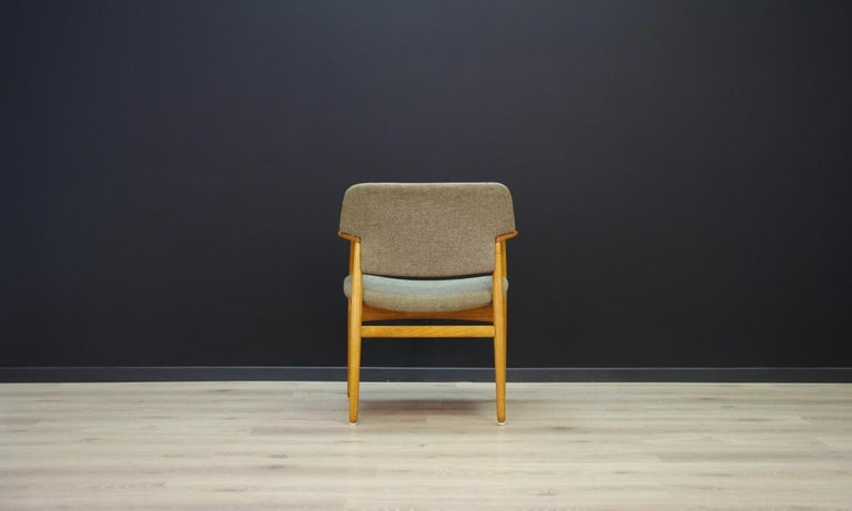 Fabric Fritz Hansen Vintage Armchairs Danish Design For Sale