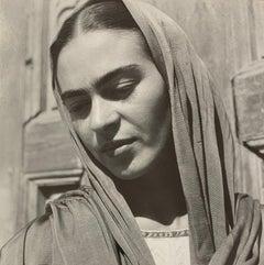 Frida Kahlo Holding Her Shawl, 1936