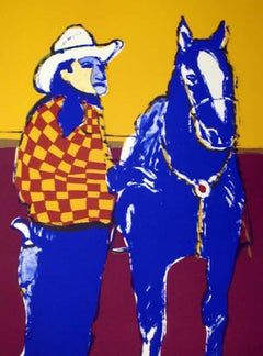 Matinee Cowboy, Limited Edition, Hand-Signed Lithograph
