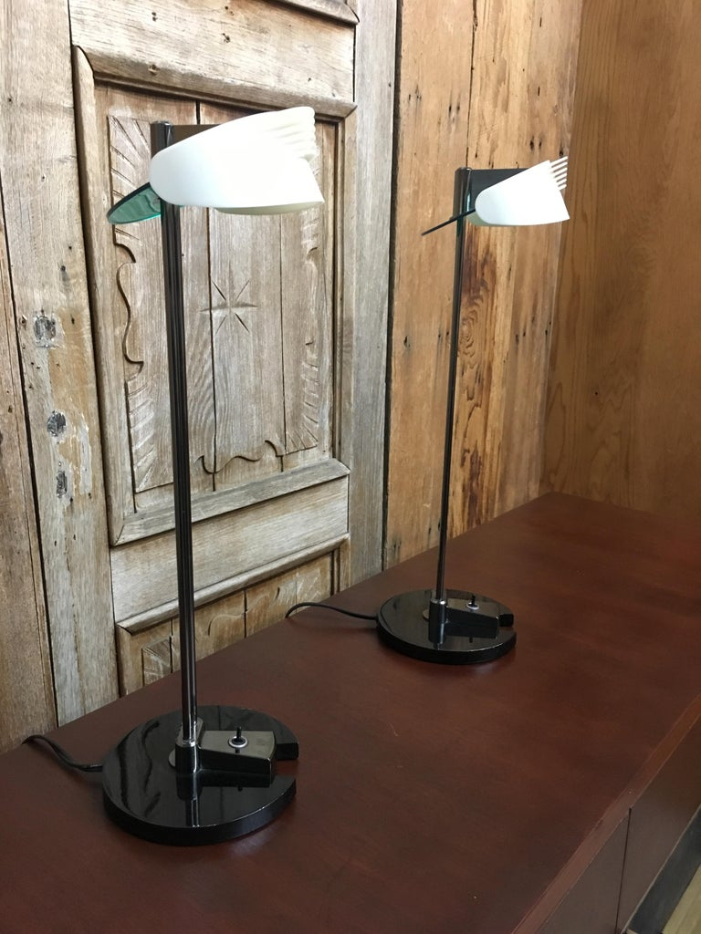 Fritz Table Lamps by Perry King & Santiago Miranda for Arteluce For Sale 3