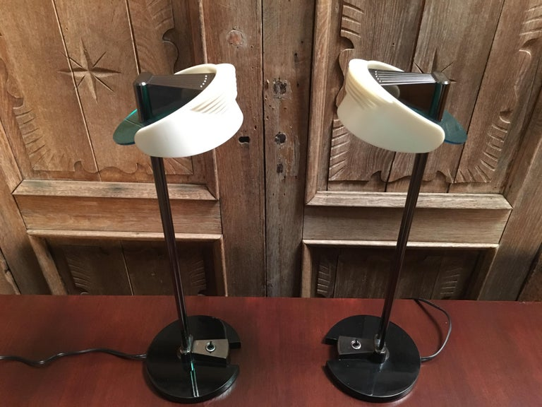 Fritz Table Lamps by Perry King & Santiago Miranda for Arteluce For Sale 5