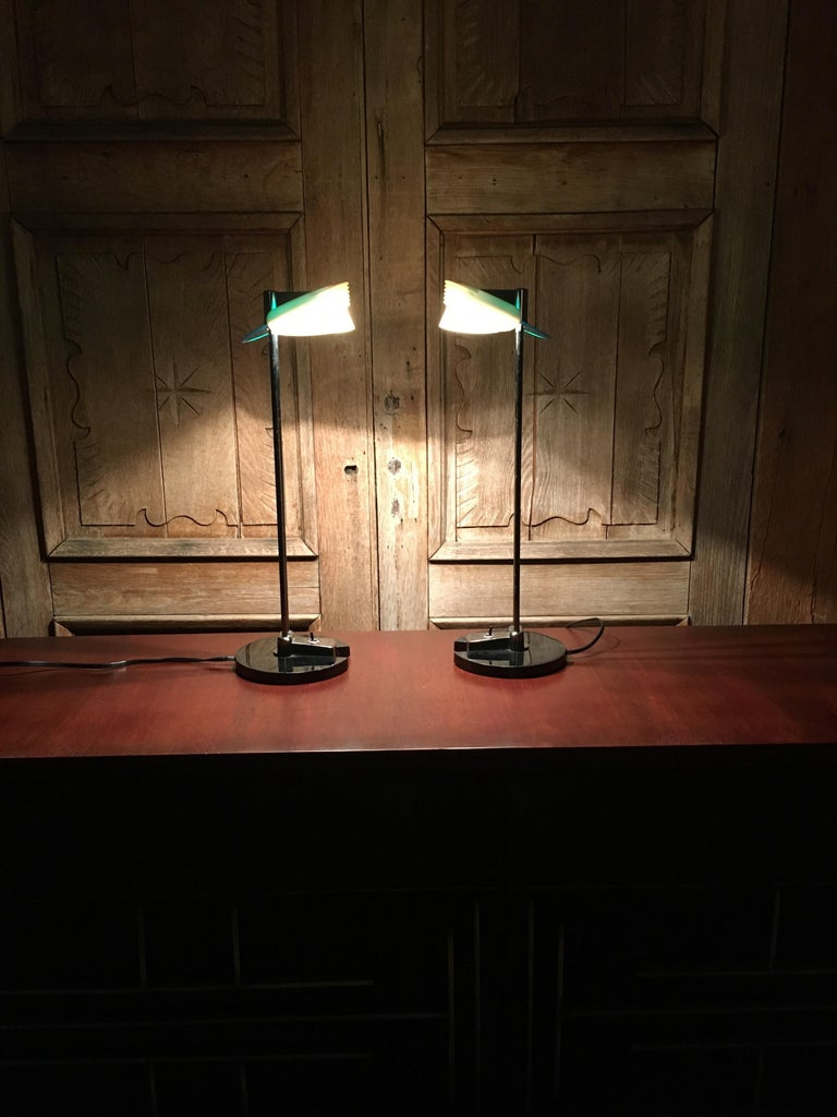 Fritz Table Lamps by Perry King & Santiago Miranda for Arteluce For Sale 6