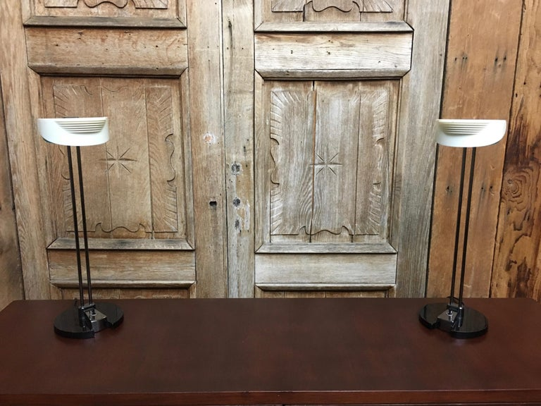 Fritz Table Lamps by Perry King & Santiago Miranda for Arteluce For Sale 8