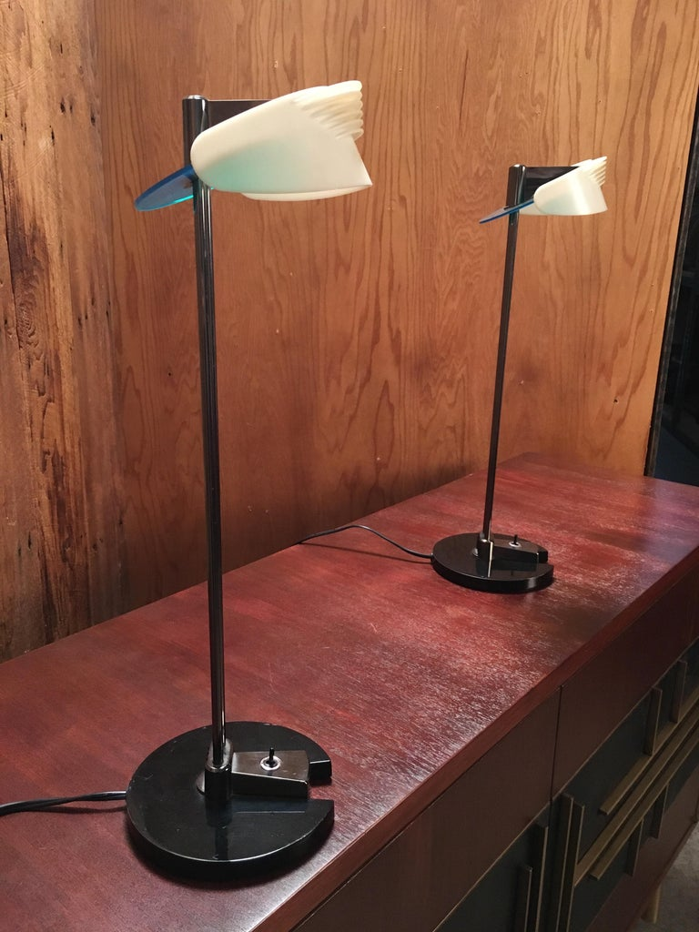 Italian Fritz Table Lamps by Perry King & Santiago Miranda for Arteluce For Sale