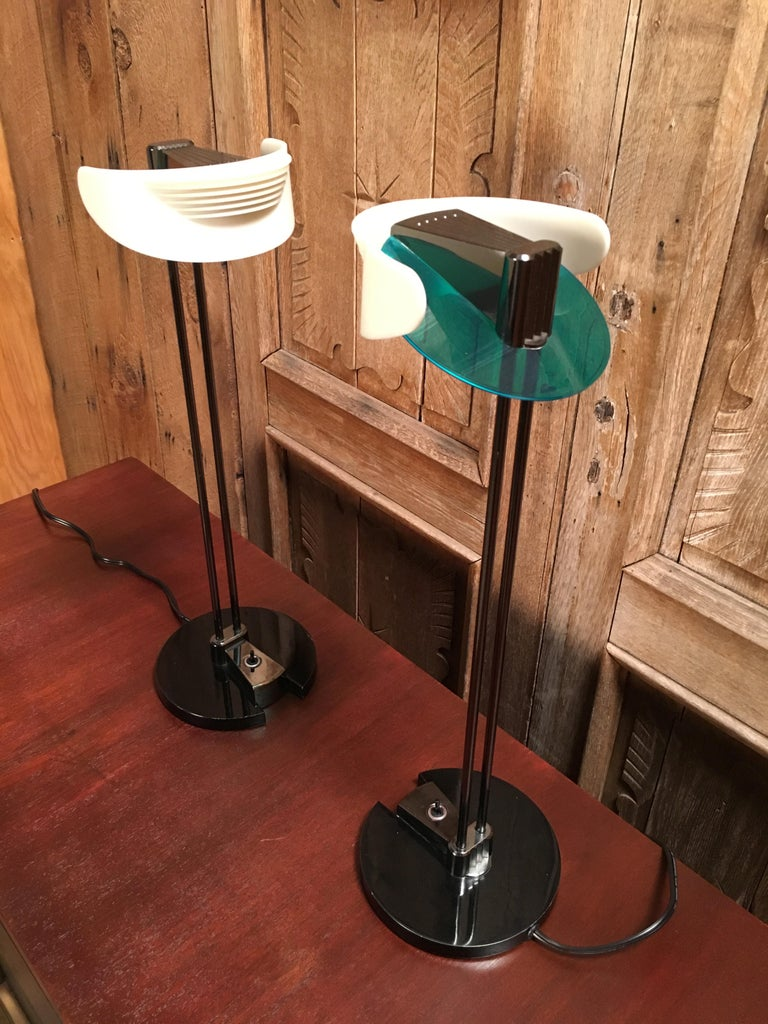 Fritz Table Lamps by Perry King & Santiago Miranda for Arteluce For Sale 2