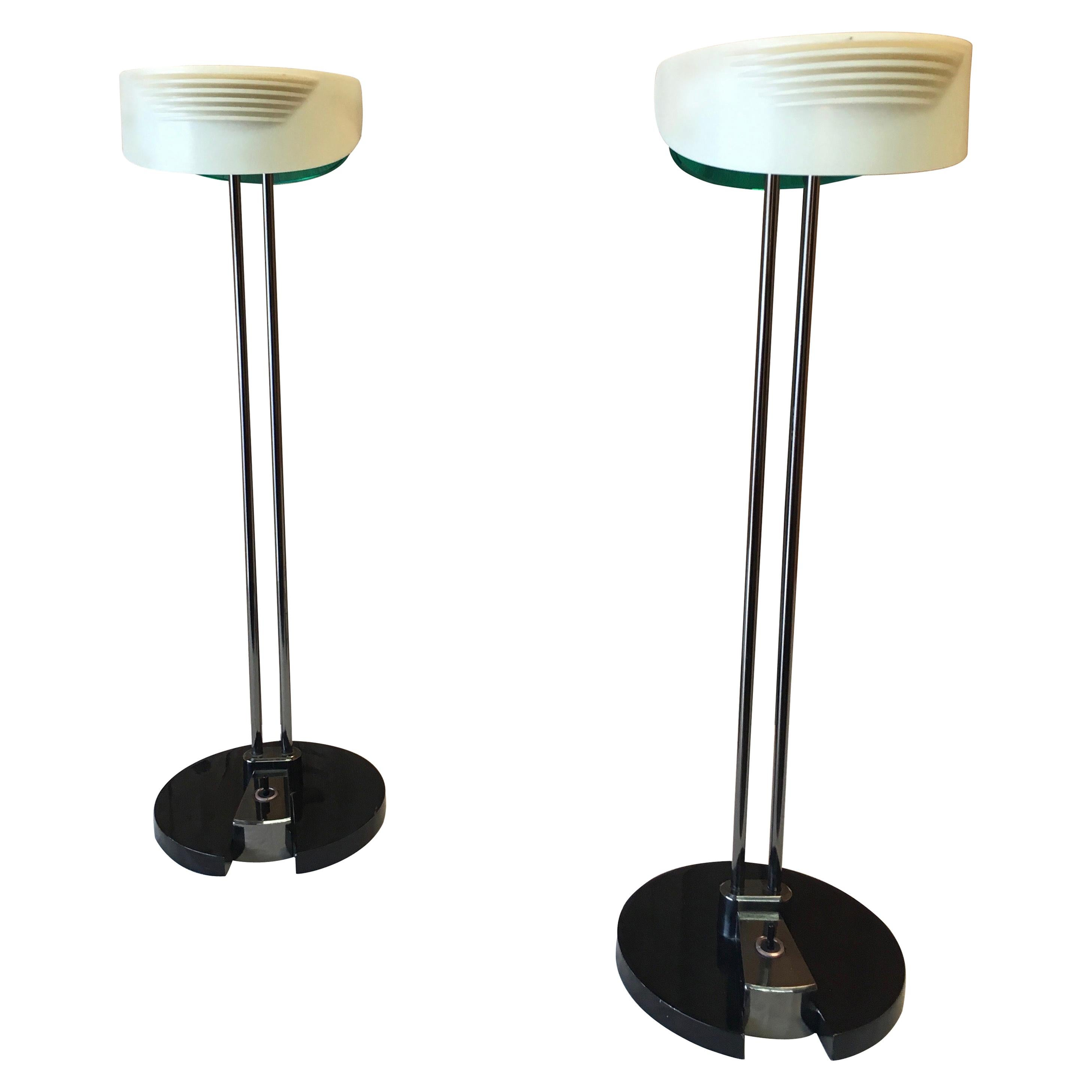 Fritz Table Lamps by Perry King & Santiago Miranda for Arteluce