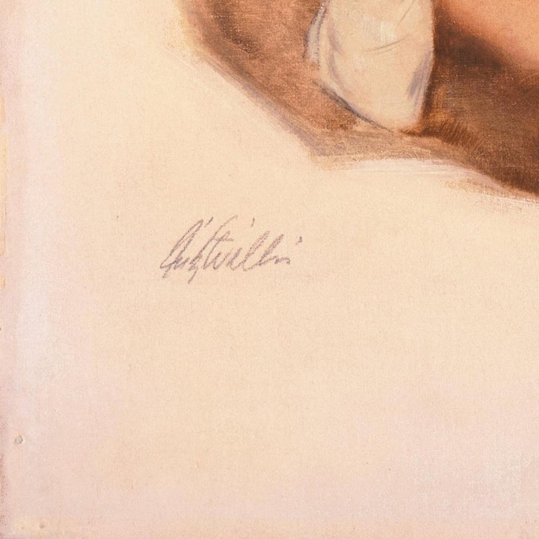 'Venus in Furs', American Pin-Up Illustration, Nude, Leopold von Sacher-Masoch For Sale 5