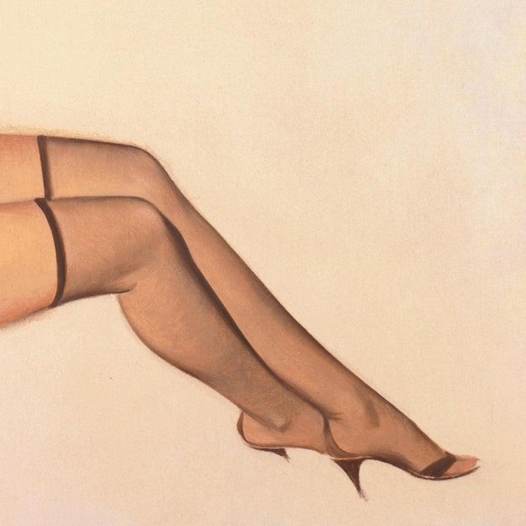'Venus in Furs', American Pin-Up Illustration, Nude, Leopold von Sacher-Masoch For Sale 1
