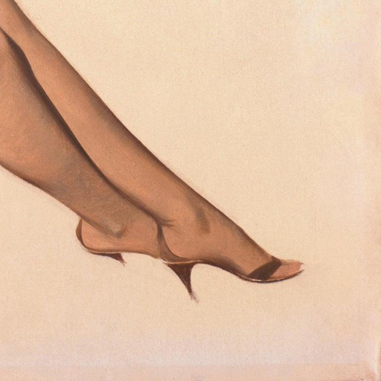 'Venus in Furs', American Pin-Up Illustration, Nude, Leopold von Sacher-Masoch For Sale 2