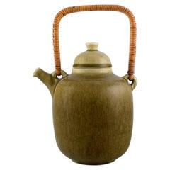 Frode Blichfeldt Bahnsen for Palshus, Teapot in Glazed Stoneware, 1960's