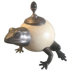 Frog Sculptural Vessel by Anthony Redmile, 1970s