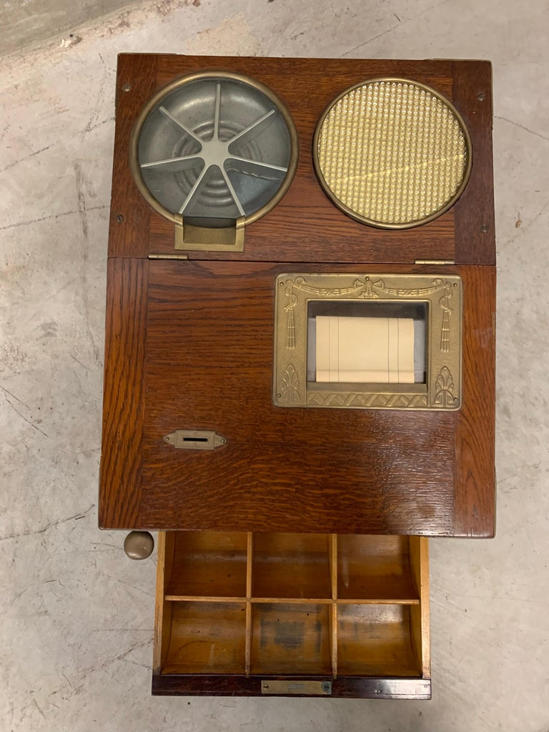From 1910 wooden National cash register For Sale 4
