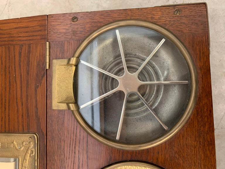 American From 1910 wooden National cash register For Sale