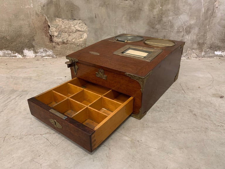 20th Century From 1910 wooden National cash register For Sale
