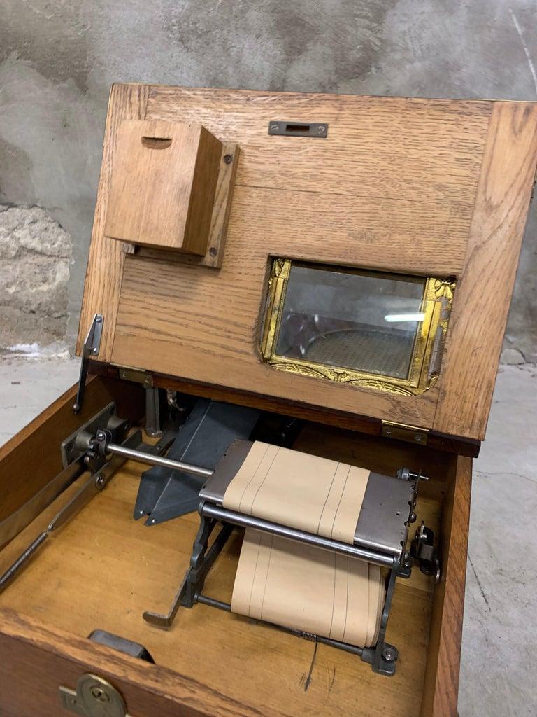 From 1910 wooden National cash register For Sale 1