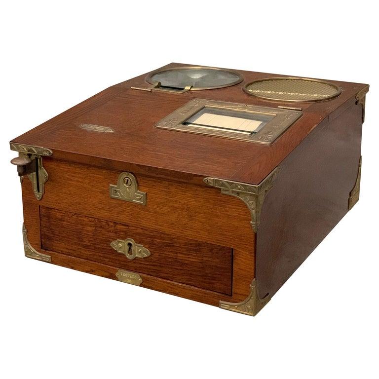 From 1910 wooden National cash register For Sale