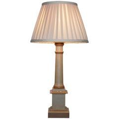 Aus dem Herzog und Herzogin Northumberland Immobilien Verkauf Vintage Lack Holz Sockel Lampe