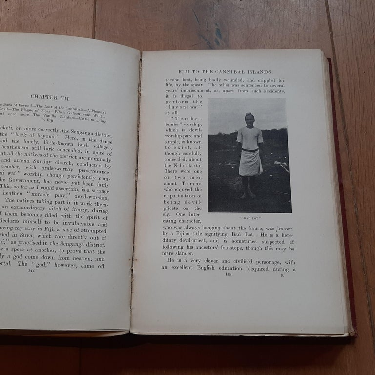 Paper From Fiji to the Cannibal Islands by B. Grinshaw (1907) For Sale