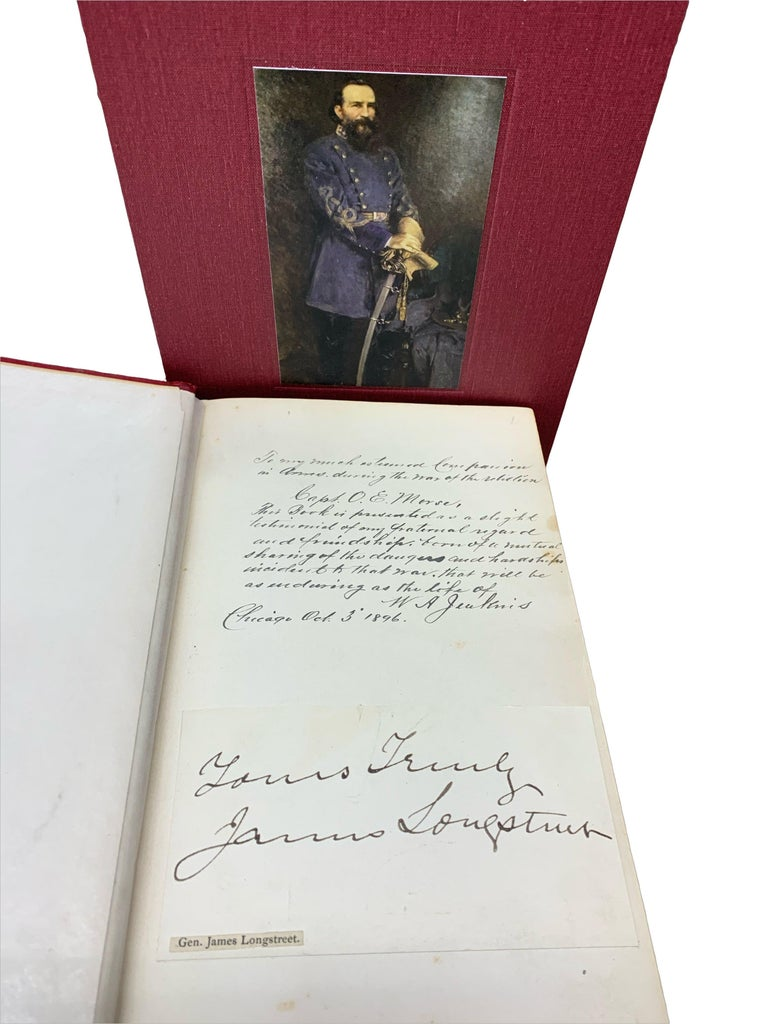 Late 19th Century From Manassas to Appomattox, by James Longstreet, First Edition, Signed For Sale