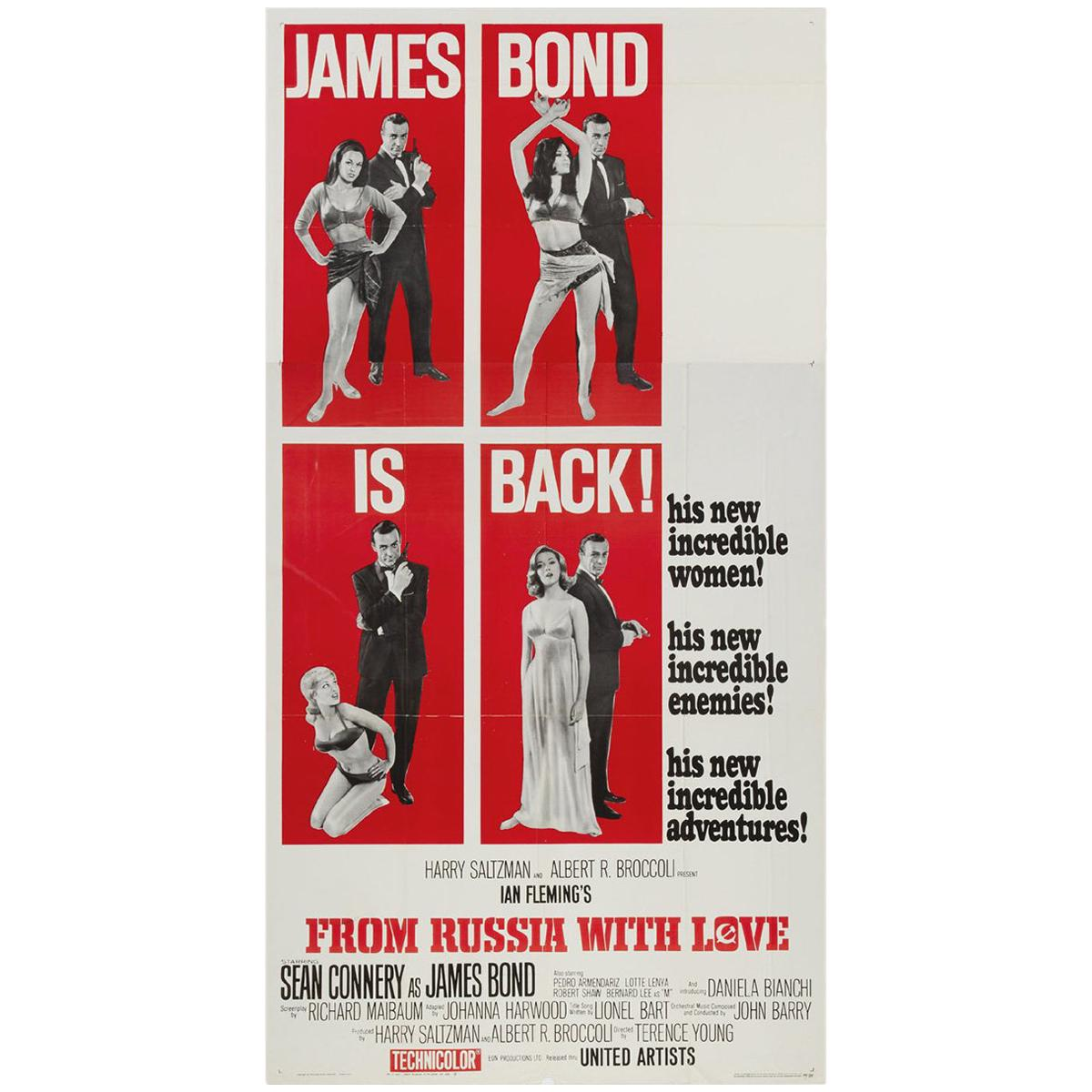 From Russia with Love '1963' Poster