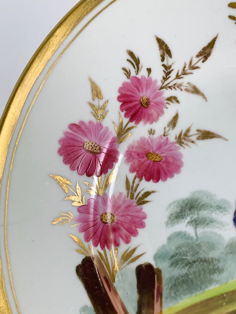 From the Collection of Mario Buatta a Minton Chinoiserie Dish In Excellent Condition For Sale In Katonah, NY