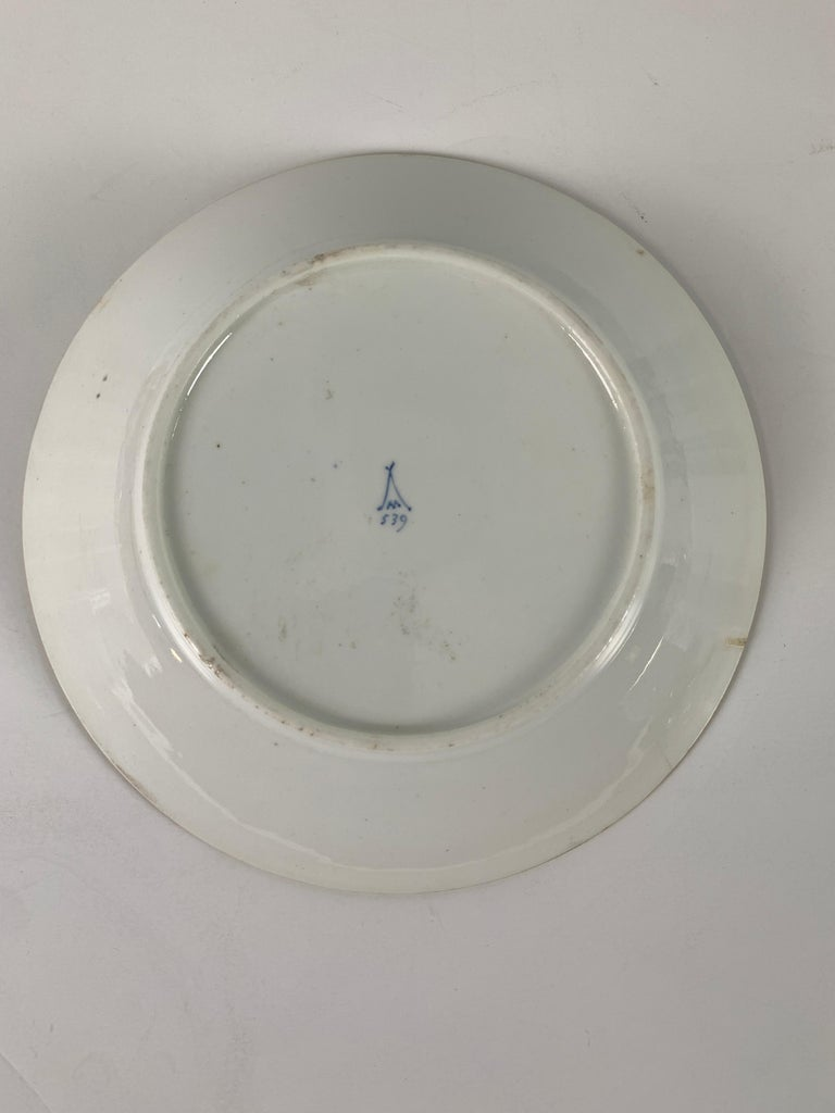 Porcelain From the Collection of Mario Buatta a Minton Chinoiserie Dish For Sale