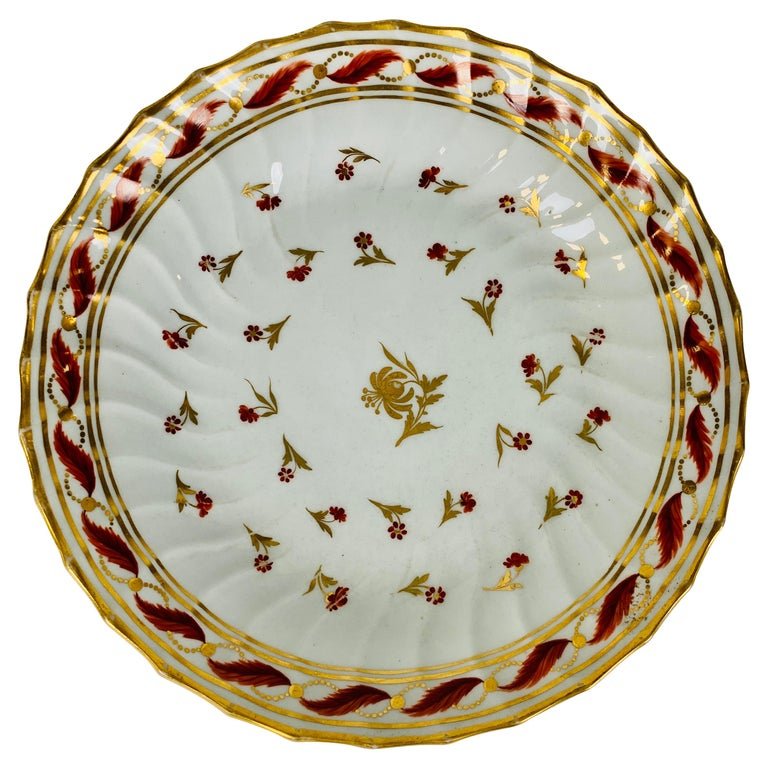From the Collection of Mario Buatta a Neoclassical Saucer Dish England For Sale