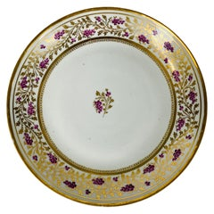 From the Collection of Mario Buatta a New Hall Saucer Dish Made England c-1810