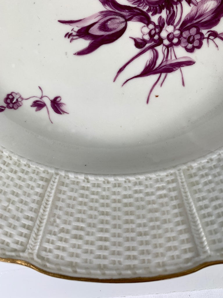 From the Collection of Mario Buatta a Pair of 18th Century Ludwigsburg Dishes In Excellent Condition For Sale In Katonah, NY