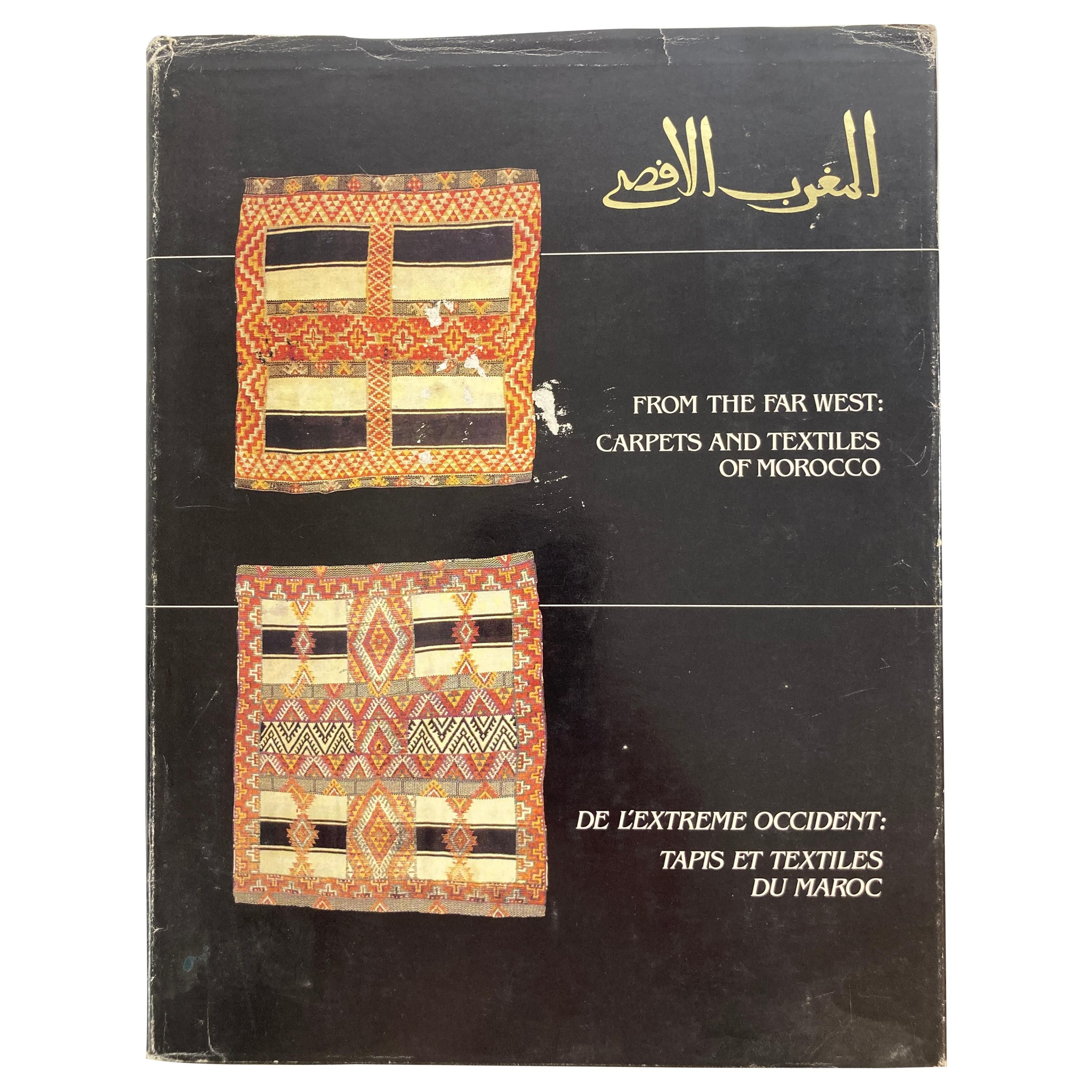 From the Far West Carpets and Textiles of Morocco Hardcover Book