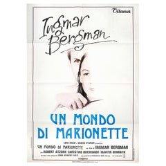 From the Life of the Marionettes 1980 Italian Due Fogli Film Poster