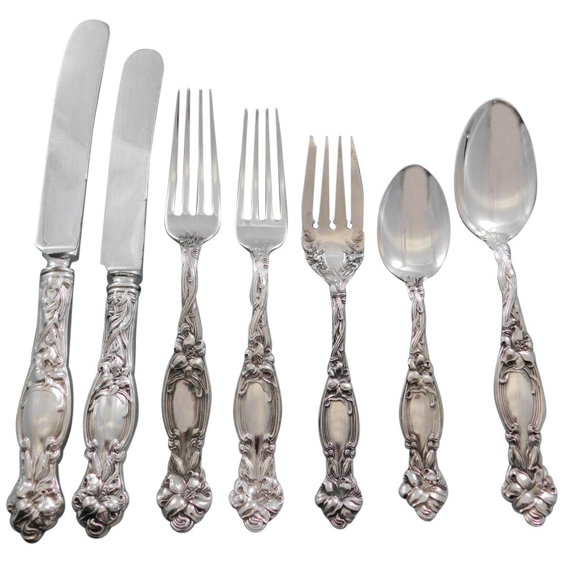 Frontenac by International Sterling Silver Flatware Set 12 Service 89 Pc Dinner