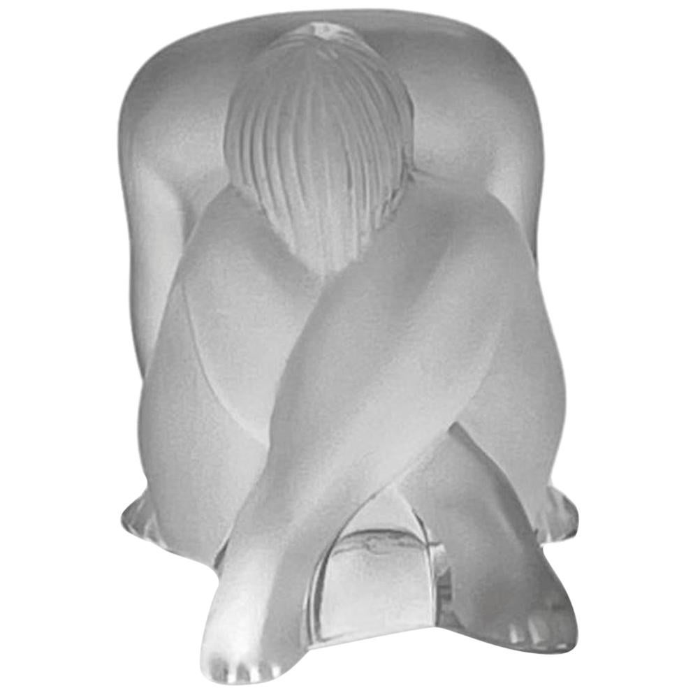 Frosted Glass Study 'Nude Dream' by Marie Claude Lalique