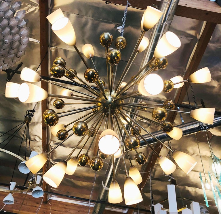 Shades Sputnik Chandelier For Sale 1