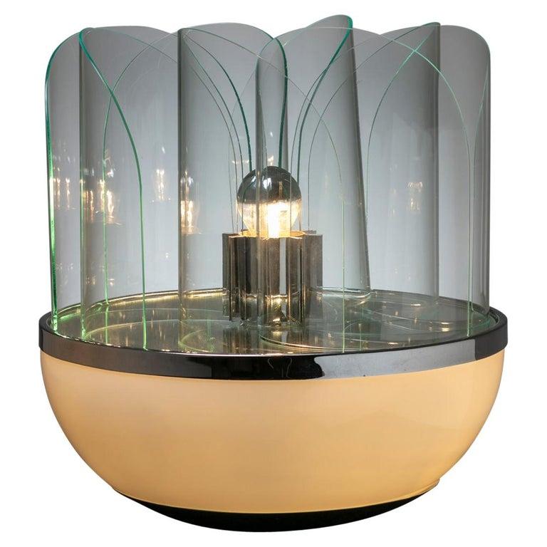 """Fru Fru"" Table Lamp by Elvio Becheroni for Lamperti For Sale"