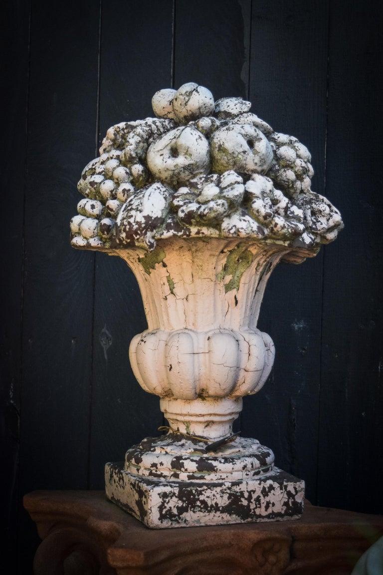 Cast Fruit Garden Ornament For Sale