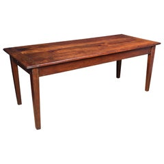 Fruitwood Farmhouse Kitchen Dining Table
