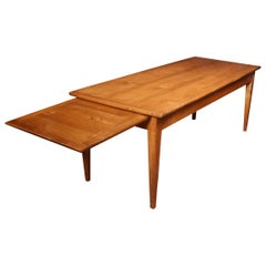 Fruitwood Farmhouse Table