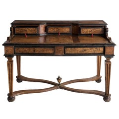 Fruitwood Writing Desk, circa 1870