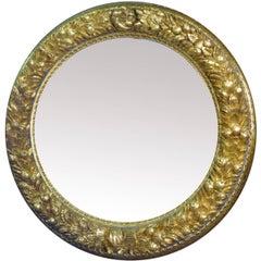 Frutta D'Oro Carved Wood Mirror