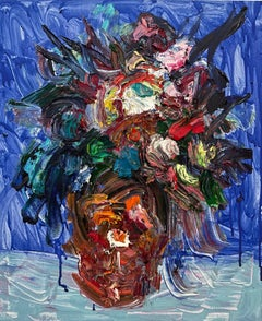 Chinese Contemporary art by Fu Ze-Nan - Flower No.1
