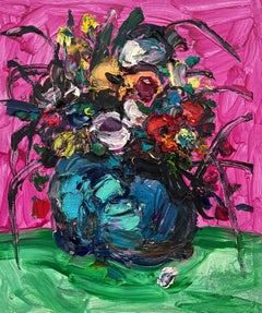 Chinese Contemporary art by Fu Ze-Nan - Flower No.2