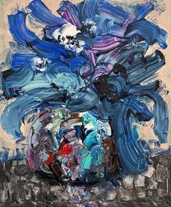 Chinese Contemporary art by Fu Ze-Nan - Flower No.3