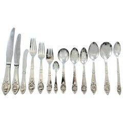 Fuchsia by Georg Jensen Klokke Sterling Flatware Set for 12 Dinner 160 Pieces