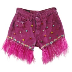 Fucsia denim SOAB shorts
