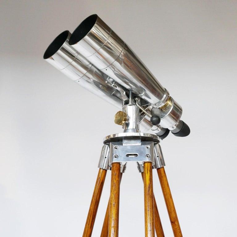 Fuji Meibo 15x80 WW11 Naval/Marine Binoculars For Sale 8